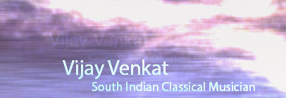 South Indian Classical Musician